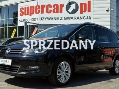 używany VW Sharan II 2.0 TDi, 170KM, Highline, Panorama, LED, GWARANCJ