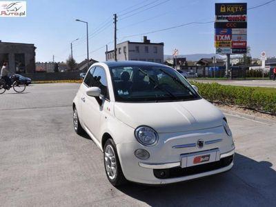 używany Fiat 125 500 1.2dm3 75KM 2009r.282km 1.3 m-jet/klima/szklany dach/ uszkodzony - icd kęty !