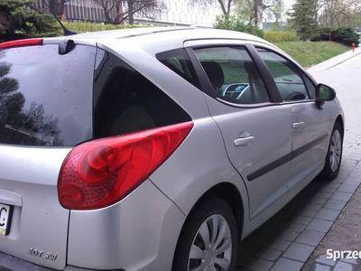 używany Peugeot 207 dach panorama klimatyzacja- zamiana -