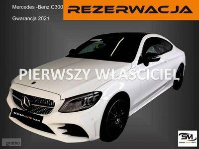 używany Mercedes C300 Klasa C W205COUPE AMG LINE