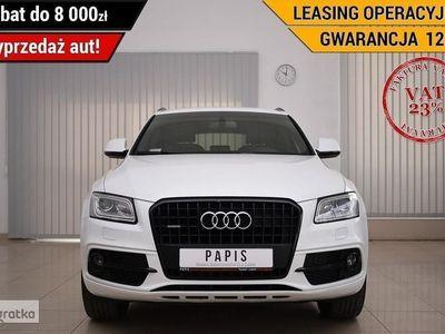 używany Audi Q5 I (8R) VAT23% SalonPL 1.Wł SLine Xenon Climatronic Nawi Kier.Multi PAPIS