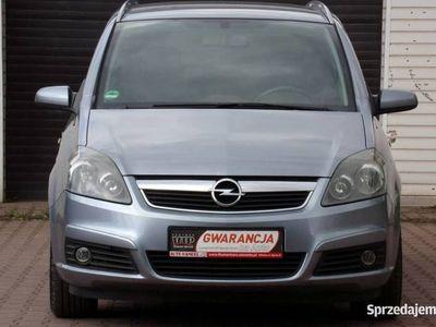 używany Opel Zafira 1.8dm 140KM 2006r. 184 000km