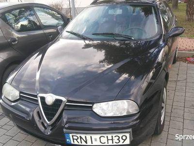 używany Alfa Romeo 156 SW rzadka czerwona skóra