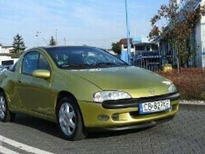 używany Opel Tigra A LPG, zarejestrowana, klima