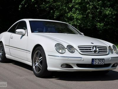 używany Mercedes CL500 5dm 306KM 2002r. 128 000km