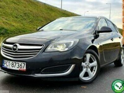 używany Opel Insignia Country Tourer I LIFT oryginał NOWA DWUMASA mocno doinwestowany STAN BDB serwisowany