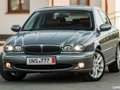używany Jaguar X-type SPORT ! 2.5i V6 197KM Manual ! Czerwone Skóry ! Opłacony ! I (2001-2009)