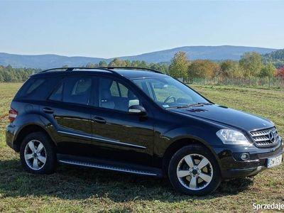 używany Mercedes ML320 CDI 4X4 SalonPL Servis ASO Skóra GWARANCJA