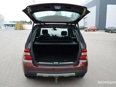 używany Mercedes ML320 3dm 224KM 2008r. 272 000km