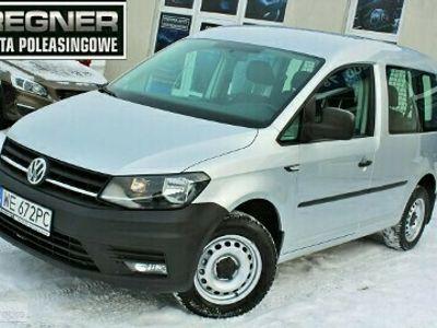 używany VW Caddy III Salon PL 2.0TDI CR 102KM FV23% 1WŁ Tempomat Gwarancja