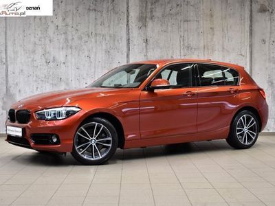 brugt BMW 120 2dm 184KM 2018r. 14 070km
