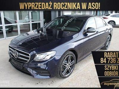 używany Mercedes 220 Klasa E W213 2.04MATIC (194KM) | AMG + Avantgarde + Premium + Night, Chorzów
