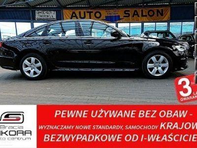 używany Audi A6 IV (C7) 3 Lata GWARANCJA I-wł Kraj Bezwypadkowy 190KM NAVI Skóra BiXenon FV2
