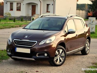 używany Peugeot 2008 ALLURE, 1.6 benzyna, POLSKI SALON, STAN IDEALNY
