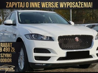 używany Jaguar F-Pace 2.0 I4D AWD (180KM)| PRESTIGE + Connect Pro + Nawigacja |OD RĘKI