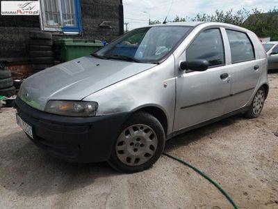 używany Fiat Punto 1.2dm3 80KM 2002r. 249 000km 2002r 1,2 Benzyna Tanio Wawa