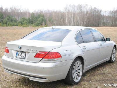 używany BMW 750L i, E66 2008 rok. V8 367KM. PIĘKNA