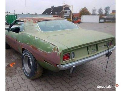 używany Plymouth Barracuda CUDA- 1971 - MOPAR PROJECT 1