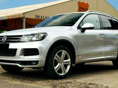 używany VW Touareg 3.0TDI 245ps 4x4 R-line Salon PL ASO 1wł Zamiana Raty Gwar. II (2010-)