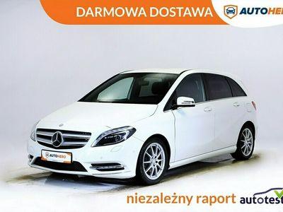 używany Mercedes B180 DARMOWA DOSTAWA, Xenon, LED, Pół skóra, Grzane fotele, PDC