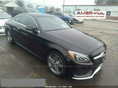 używany Mercedes C300 2dm 245KM 2017r. 41 000km