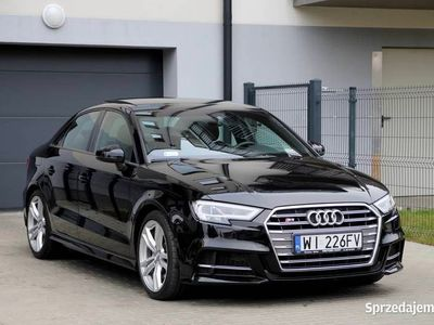 używany Audi S3 Sedan LIFT 310KM SalonPL Gwarancja CENA BRUTTO FV23%