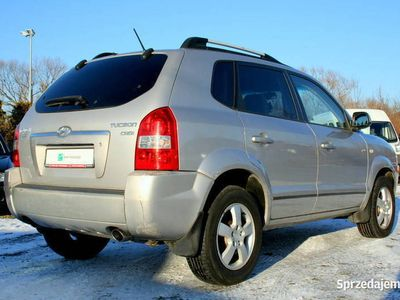 używany Hyundai Tucson 4x4+Blokada,Alufelgi Klimatyzacja Esp Relingi