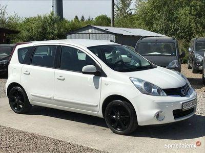 używany Nissan Note 1.5dm3 90KM 2013r. 176 000km Skóra* Bluetooth*Alufelgi* Serwisowany* Gwarancja