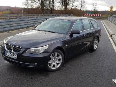 używany BMW 530 E61 XD 2007R 3.0D 235KM 4X4 XDRIVE WZOROWY STAN