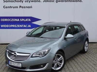 używany Opel Insignia Country Tourer I SalonPL CDTI 170KM Cosmo BiXenon Nawigacja Serwis ASO VAT
