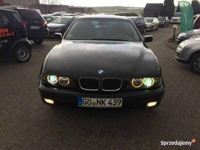 używany BMW 520 i Czarna Klimatronic OPŁACONY !!!