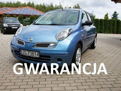 używany Nissan Micra 5 drzwi 2009 1,2 Benzyna Klimatyzacja Aluminiowe felgi Gwarancja K12 (2003-2010)