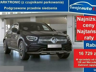używany Mercedes GLC300 4MATIC Coupe, AMG, Pak. Advantage, Pakiet Night+Alarm