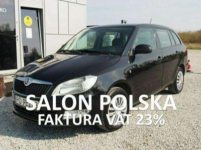 używany Skoda Fabia 1.6 TDI 75KM 2014r. Salon PL, Klimatyzacja, FV23% II (2007-2014)
