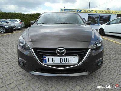 używany Mazda 3 III 2,0 benzyna 120KM zarejestrowany nawigacja