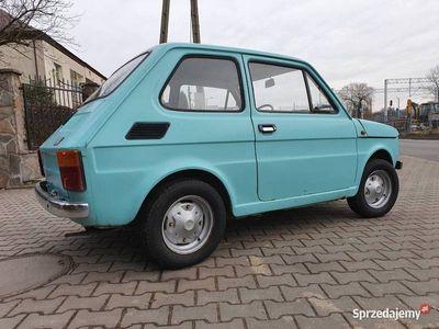 używany Fiat 126 BAMBINO pierwsza seria 1974 - jeden z najstarszych!