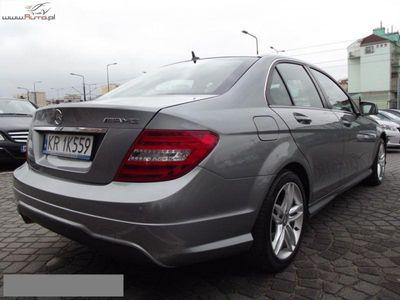 brugt Mercedes 200 klasa C 2.1dm3 136KM 2013r. 40 720kmCDI AMG Pakiet Automat Skóra Serwisowany