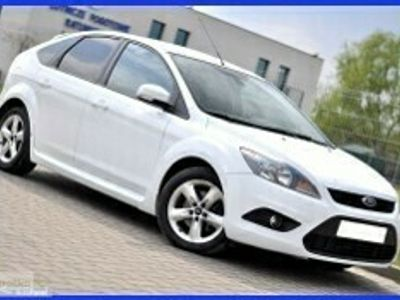 używany Ford Focus III Piękny Biały ST PAKIET__1.6D 109KM__Klima* Pół skóry* Parktronik*
