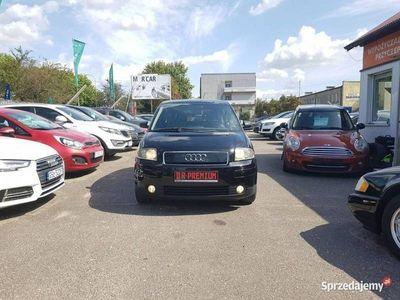 używany Audi A2 1.4dm 75KM 2001r. 213 838km