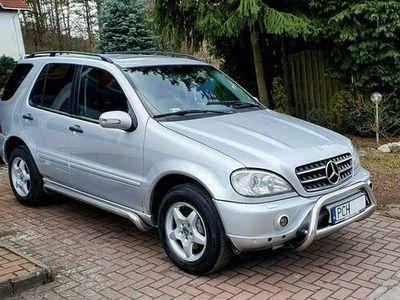 używany Mercedes ML270 270 CDI Pakiet AMG Full Opcja Ladnie sie prezentuje Polecam !!! W163 (1998-2005)