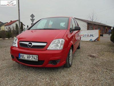 brugt Opel Meriva 1.7dm3 101KM 2007r. 190 000km Lift serwis oryginalny przebieg jeden właściciel