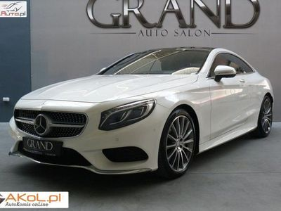 używany Mercedes S500 4.7dm3 455KM 2014r. 25 000km Coupe 4 Matic AMG Exclusive Designo FV23