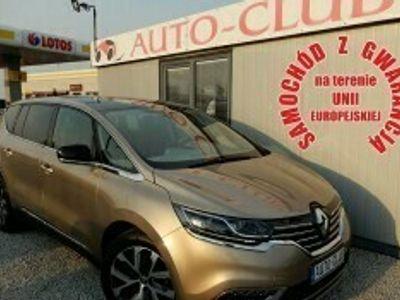 używany Renault Espace V DCI 160 KM EDC INITIALE PARIS Navi PL Bose Ledy Szklany Dach Gwaranc