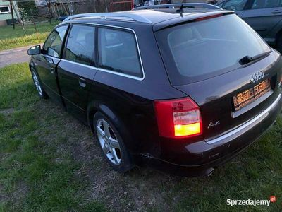 używany Audi A4 b6 3.0 quattro sprowadzone