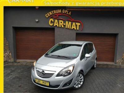 używany Opel Meriva 1.4dm3 140KM 2013r. 84 000km Bogata wersja COSMO Navi kolor Serwis Opla Garancja 1,4 TURBO 140PS