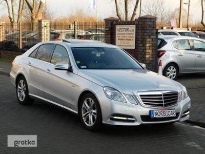 używany Mercedes 220 Klasa E W2122.2CDi 170KM XENONY NAVI SZYBERDACH Model=2012r