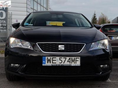 brugt Seat Leon Leon 1.6dm3 110KM 2016r. 70 149km1.6 TDI Reference, 110 KM, Salon PL, FV 23%, GWARANCJA!!