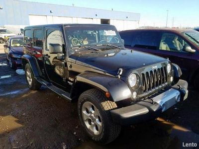 używany Jeep Wrangler Unlimited SAHARA 3.6 285 KM automat 2014