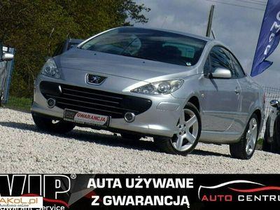 używany Peugeot 202 307 CC 2dm 136KM 2006r.366km