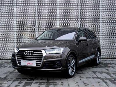 używany Audi Q7 II 3.0 TDI 272 KM, 2017r, przebieg 20.100 km, ASO, FV, Gwarancja, 7 os.